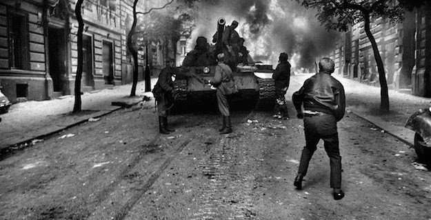 21 August 1968; the day the tanks invaded my young head